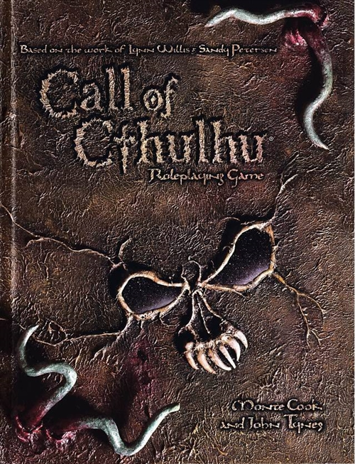 Call of Cthulhu D20 - Roleplaying Game (A Grade) (Genbrug)