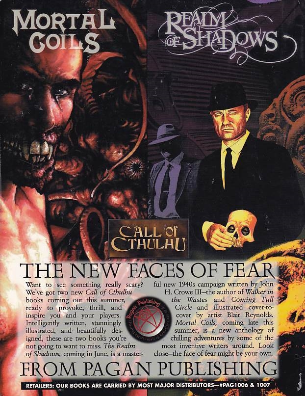 Call of Cthulhu The Unspeakable Oath Issue Fourteen/Fifteen (B Grade) (Genbrug)