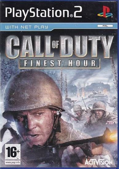 Call of Duty Finest Hour - PS2 (Genbrug)