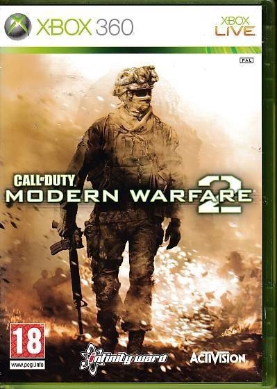 Call of Duty Modern Warfare 2 - XBOX 360 (B Grade) (Genbrug)