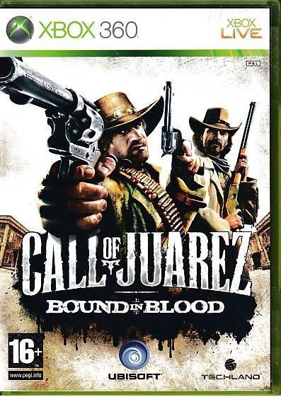 Call of Juarez Bound in Blood - XBOX 360 (B Grade) (Genbrug)