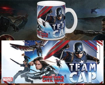 Captain America Civil War Team Cap - Krus