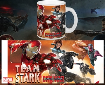 Captain America Civil War Team Stark - Krus