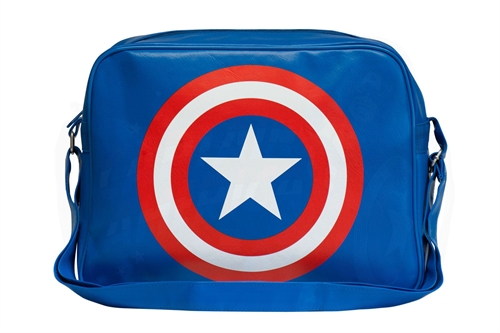 Captain America Shield Logo - Skuldertaske