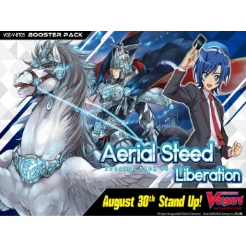 Cardfight!! Vanguard V -  Aerial Steed Liberation - Booster Pakke