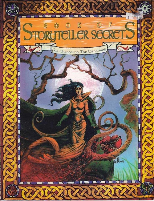 Changeling the Dreaming 1st edition - Book of Storyteller Secrets - (B Grade) (Genbrug) - mangler GM Skærm