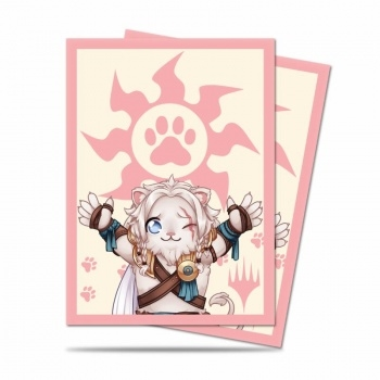 "Chibi Collection Ajani - ""Lion Hug"" til Magic - Ultra Pro Plastiklommer"