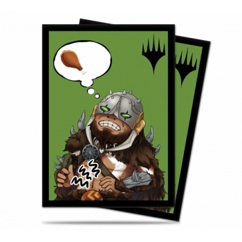 "Chibi Collection Garruk - ""Im Starving!"" til Magic - Ultra Pro Plastiklommer"