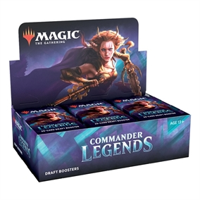 Commander Legends - Draft Booster Box Display (24 Booster Pakker) - Magic the Gathering