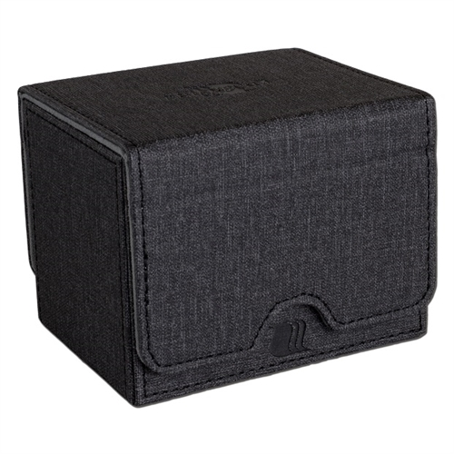 Convertible Premium Deck Box - Sort Horizontal (100+ Standard kort)