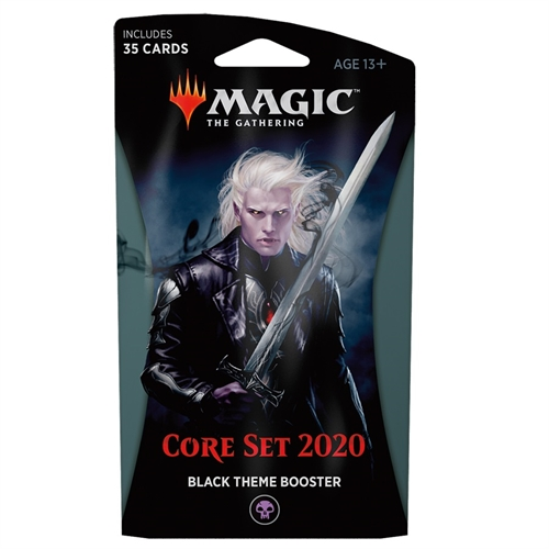 Core 2020 - Black Theme Booster - Magic the Gathering