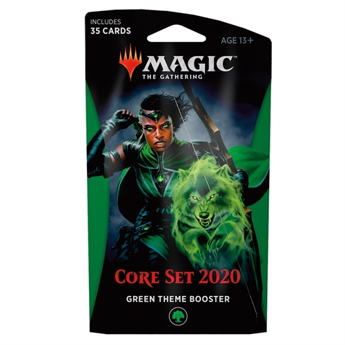 Core 2020 - Green Theme Booster - Magic the Gathering
