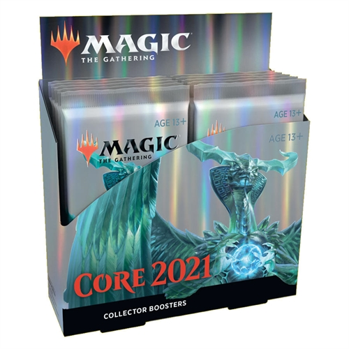 Core set 2021 - M21 Collector Booster Box Display (12 Booster Pakker) - Magic the Gathering