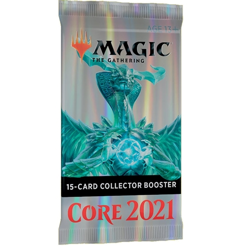 Core set 2021 - M21 Collector Booster Pakke - Magic the Gathering