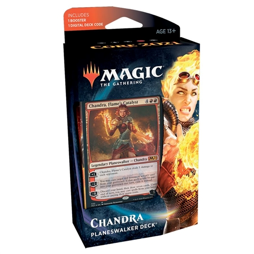 Core set 2021 - M21 Planeswalker Deck Chandra - Magic the Gathering