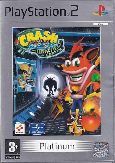 Crash Bandicoot The Wrath of Cortex - PS2 - Platinum (Genbrug)