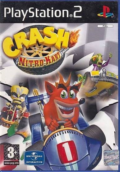 Crash Nitro Kart - PS2 (Genbrug)