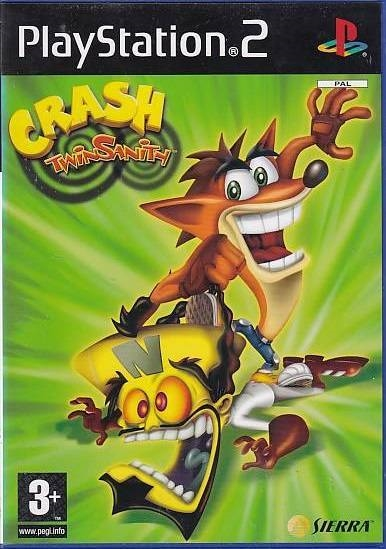 Crash Twinsanity - PS2 (Genbrug)