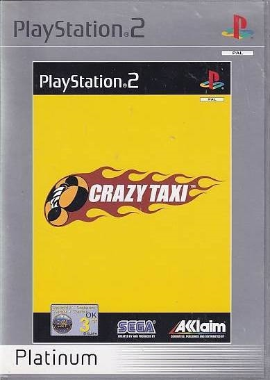 Crazy Taxi - PS2 - Platinum (Genbrug)
