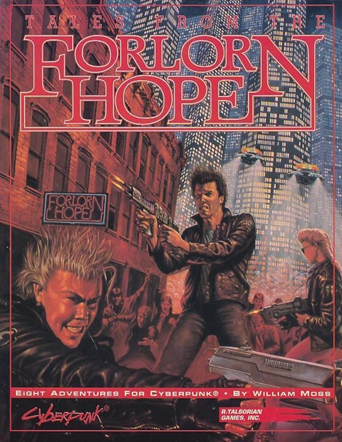 Cyperpunk 2nd ed - Tales from the Forlorn Hope (B-Grade) (Genbrug)