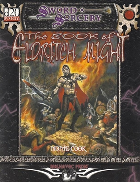 D&D 3.0 - Sword & Sorcery - The Book of Eldritch Might (Genbrug)