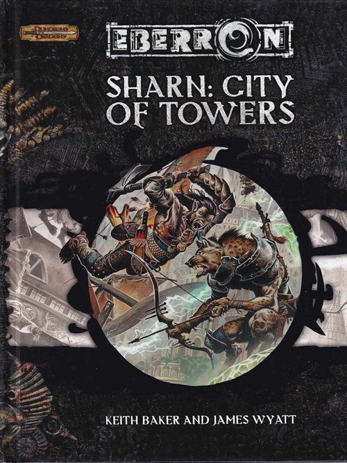 Dungeons & Dragons 3.5 - Eberron - Sharn: City of Towers (B Grade) (Genbrug)