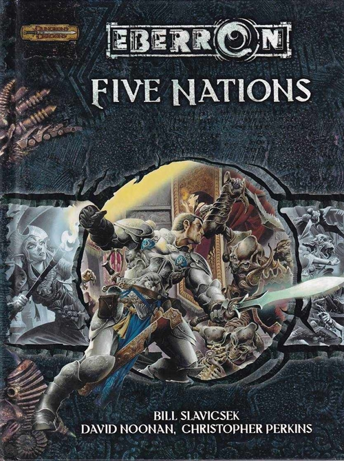 D&D 3.5 - Eberron Five Nations (Genbrug) (B Grade)