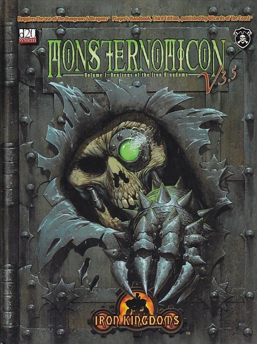 D&D 3.5 - Iron Kingdoms - Monsternomicon Vol 1 (B-Grade) (Genbrug)