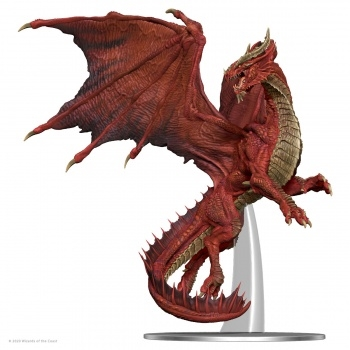 D&D Icons of the Realms Premium D&D Figur - Adult Red Dragon