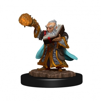 D&D Icons of the Realms Premium D&D Figur - Gnome Wizard Male