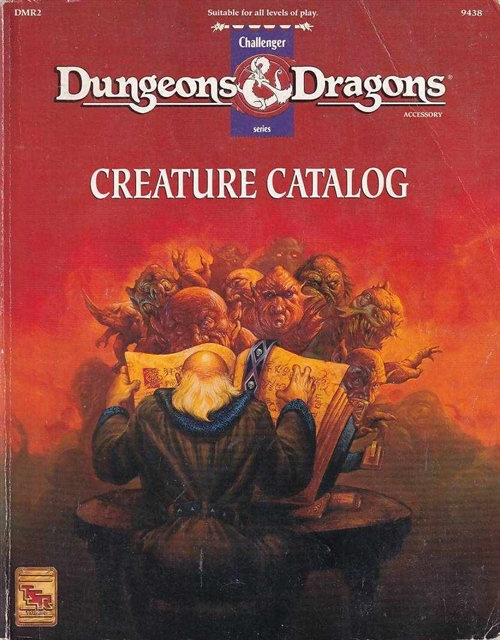 Dungeons & Dragons - Creature Catalogue (B Grade) (Genbrug)