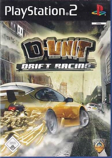 D-unit Drift Racing - PS2 (Genbrug)