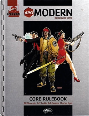 D20 Modern - Roleplaying Game - Core Rulebook (B Grade) (Genbrug)