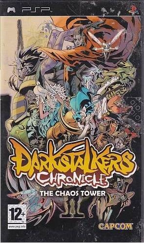 Darkstalkers Chronicle - The Chaos Tower - PSP Spil (Genbrug)