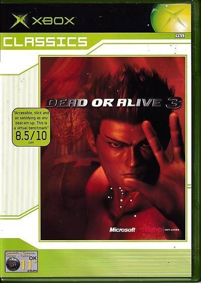 Dead Or Alive 3 - Classic - XBOX (B Grade) (Genbrug)