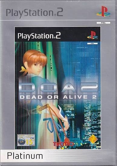 Dead or Alive 2 Platinum - PS2 (Genbrug)