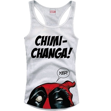 Deadpool - Chimi Changa - Pige Tank Top