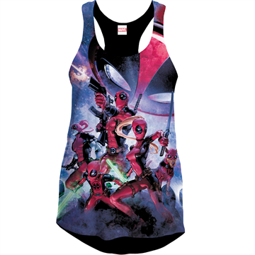 Deadpool Art - Girlie Tank Top