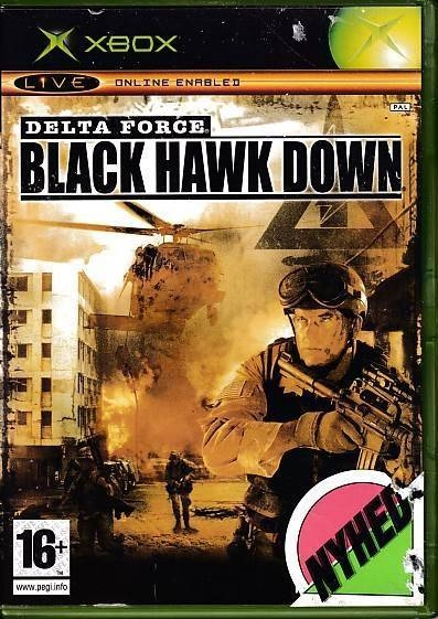 Delta Force Black Hawk Down - XBOX (B Grade) (Genbrug)