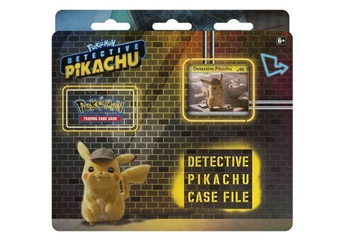 Detective Pikachu Case File - Pokemon kort