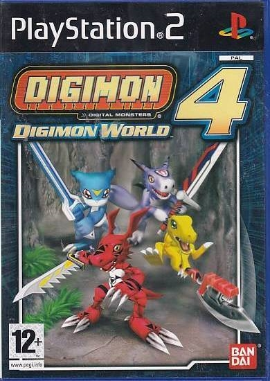 Digimon World 4 - PS2 (Genbrug)