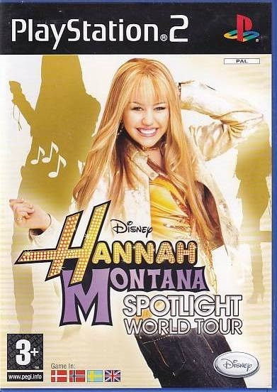 Disney Hannah Montana Spotlight World Tour - PS2 (Genbrug)