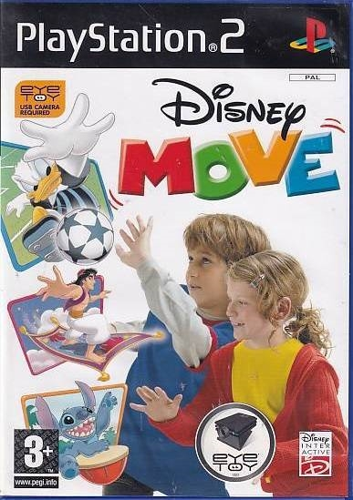 Disney Move - PS2 (Genbrug)