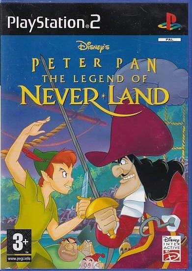 Disney Peter Pan The Legend of Never Land - PS2 (B Grade) (Genbrug)