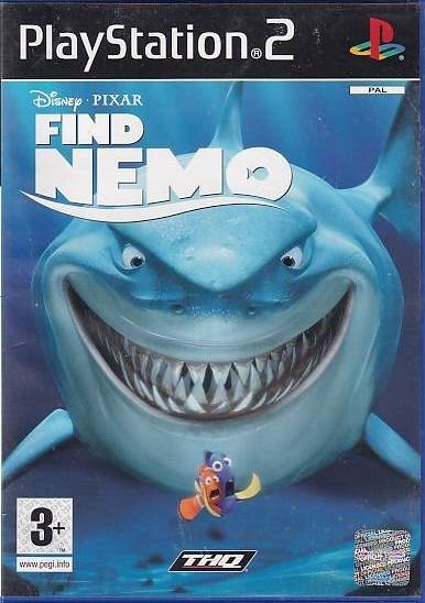 Disney Pixar Find Nemo - PS2 (Genbrug)