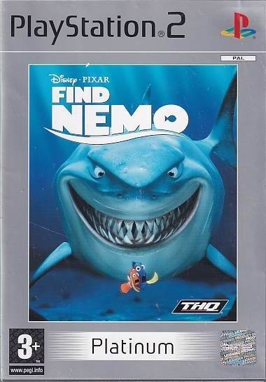Disney Pixar Find Nemo - Platinum PS2 (Genbrug)