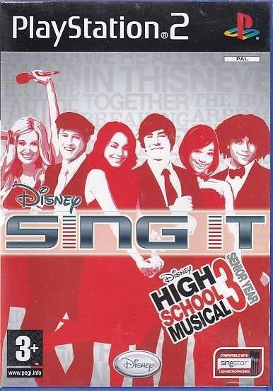 Disney Sing It High School Musical 3 Senior Year - PS2 (Genbrug)