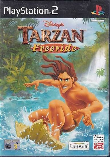 Disneys Tarzan Freeride - PS2 (Genbrug)