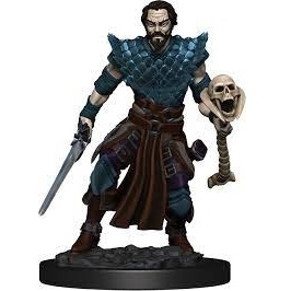 DnD figur Icons of the Realms Premium - Human Warlock Male