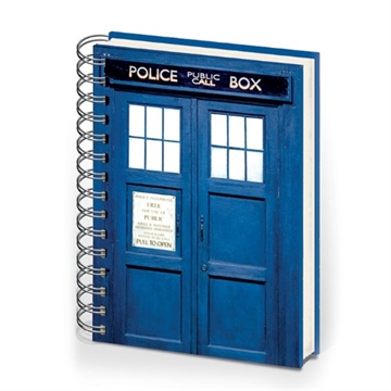 Doctor Who - Tardis - A5 Notesbog